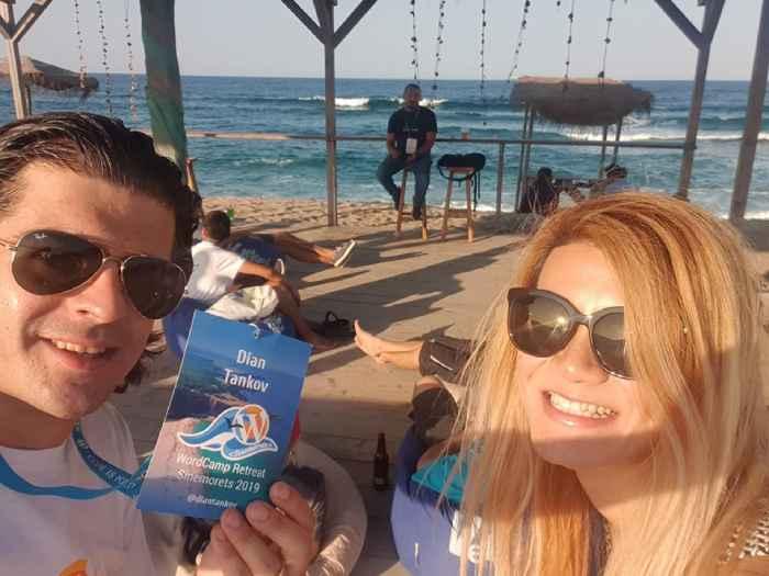 WordCamp Sinemorets Retreat 2019 Видео Репортаж - Лекция на плажа