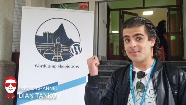 WordCamp Skopje 2019 - Видео Репортаж