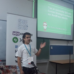 WordCampp Skopje 2019: Tips on SEO and Content Strategy to enhance our WordPress website