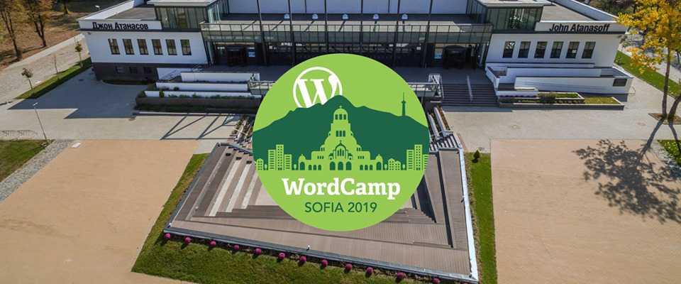 WordCamp Sofia - 2019 - banner