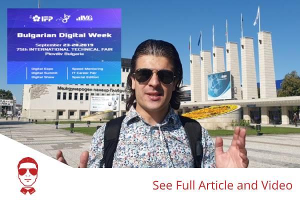 Bulgarian Digital Week 2019 I Event Report
