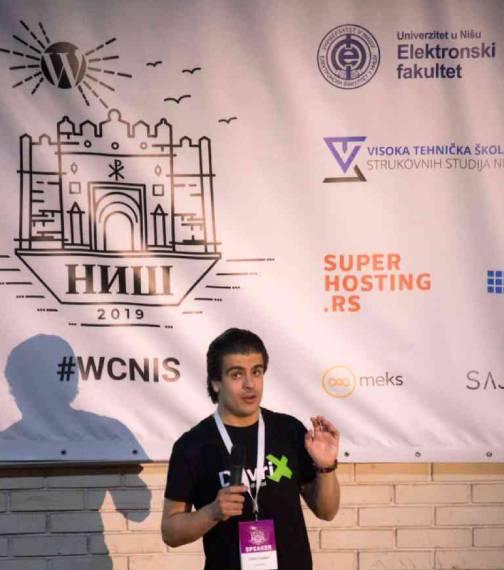 Dian Tankov - Talk at WordCamp Nis 2019