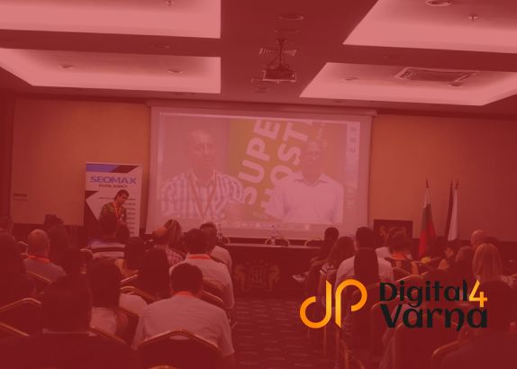 Speaker at Digital4Varna 2019 - Back