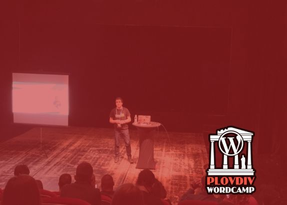 Speaker at WordCamp Plovdiv 2019 - Back