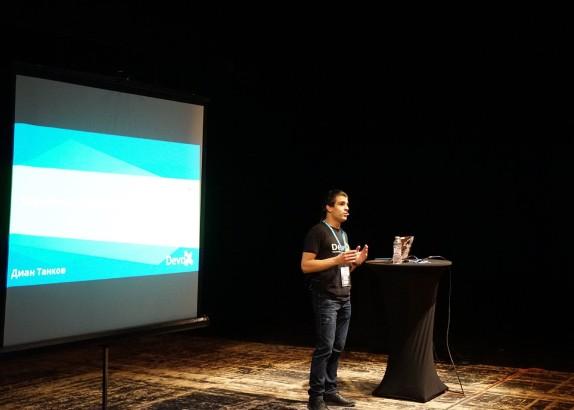 Speaker at WordCamp Plovdiv 2019 - Front