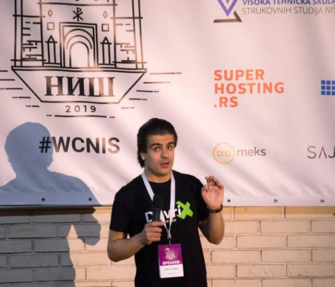 Dian Tankov About Me - Speaking at WordCamp Nis